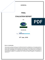 Final Report SAMPLE