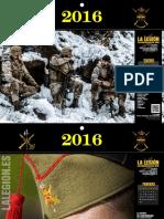 Calendario La Legión 2016