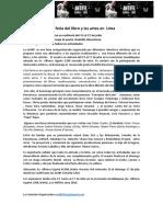 Nota de Prensa Antifil