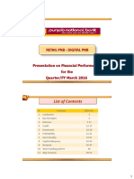 PNB Analyst Presentation March16