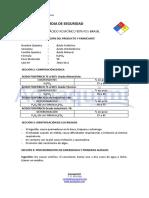 Acido Fosforico 85 Hoja Seguridad