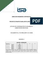 Estudio de Coordinacion de Aislamiento S.E. Orcotuna - REP