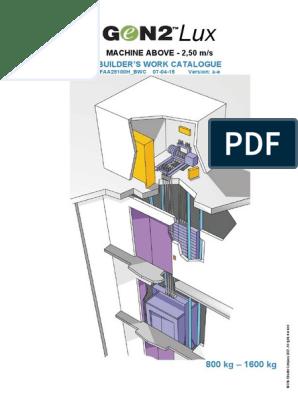 OTIS.pdf | Elevator | Electrical Wiring on