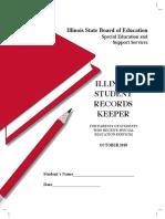 illinois student records keeper