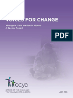 Child and Youth Advocate Report