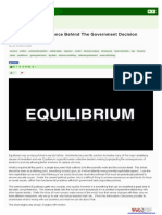 Equilibrium - The Science Behind the Government Decision Support System