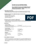 04.2.Memoria de Calculo Estructural Santa Cruz de Laria