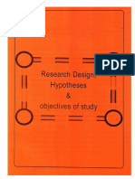 Design & Hypothesis