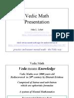 Vedic Math