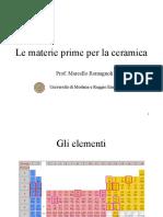 2 Materie Prime MR