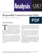Responsible Counterterrorism Policy
