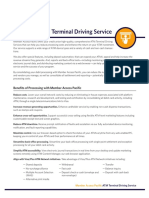 ATM Terminal Driving Service