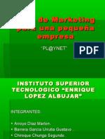 Plan de Marketing para una pequeña empresa