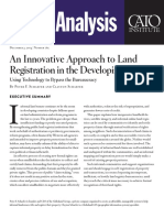 An Innovative Approach to Land Registration in the Developing World