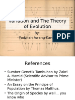 7.LECTURE 7 - Variation and the Theory of Evolution