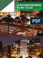 Contaminacion Sonora en Lima y Callao - OEFA