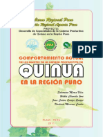 PRODUCCION QUINUA