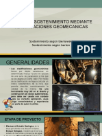 Diseño de Sostenimiento Mediante Clasificaciones Geomecanicas