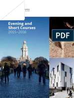 Trinity Evening and Short Courses Brochure