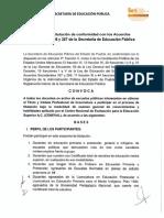 Convocatoria Programa Estatal de Titulación Docente