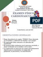 Examen Físico Cardiovascular
