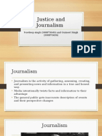 Justice and Journalism Presentation