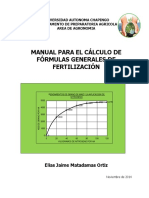 Manual Fertilizantes