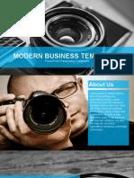 Modern Powerpoint Template Design