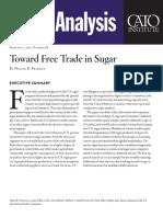 Toward Free Trade in Sugar
