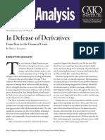 In Defense of Derivatives