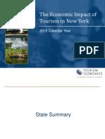 NYS Tourism Impact 2015