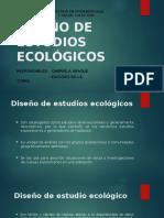 DISEÑO DE ESTUDIOS ECOLOGICOS_GABRIELA ARAQUE_ EUCLIDES DE LA TORRE.pptx