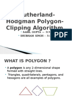 Polygon Clipping Ppt
