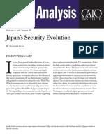 Japan's Security Evolution