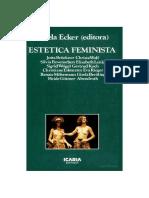 ECKER, G. - Estetica Feminista