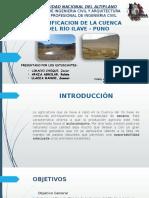 Plan de Gestion de La Cuenca Del Río
