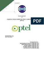 PTCL  Project(strategic management)