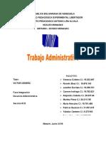 Trabajo Administrativo Gestion Institucional