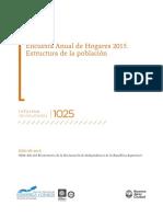 Encuesta Anual de Hogares 2015