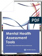 Health Board Assessment Tool Portfolio 10.02.20091
