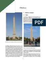 Obelisco Palabra de Origen Griego