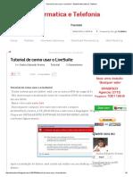 Tutorial de Como Usar o LiveSuite _ Eduweb Informatica e Telefonia