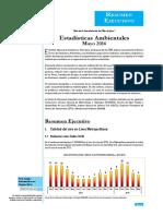 Informe Tecnico Estadisticas Ambientales May2016