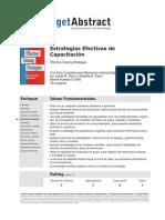 [PD] Documentos - Estrategias Efectivas de Capacitacion (1)