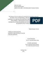 Determinación de La Relación Diagnóstica Etre El Análisis de Perfil Facial Extracraneal, (3)