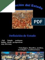 Evo Luci on Del Estado