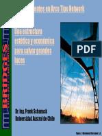 Estructura de un Puente en Arco tipo Network