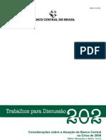 Toros e Mesquita Brasil Na Crise BCBwps202