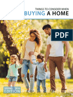 Things to Consider When Buying a Home 2016 Spring Buyer Guide
