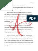 academic essay- literary analysis